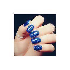Blue Hybrid UV Gel Nail Art Polish Long-lasting Soak Off LED DIY... ($7.24) ❤ liked on Polyvore featuring beauty products, nail care, nail polish, white, gel nail polish, manicure nail polish, shiny nail polish, gel nail care and gel nail varnish