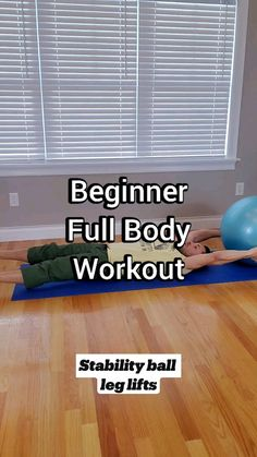 Ball Workouts, Gym Workout Videos, Gym Workout For Beginners, Fitness Workout For Women, Fitness Diet, Fitness Motivation, Exercise Ball, Excercise, At Home Workout Plan
