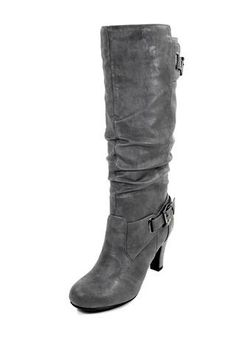 DOUBLE BUCKLE TALL BOOTS bodycentral.com