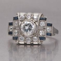 art deco engagement ring -This is the one!