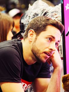 Zachary Levi -- If they were to make a live action Rapunzel, I would want him as Flynn. I know he's the voice, but he just looks like Flynn, too!! Plus, he'd have is amazing voice still and have you seen him smoulder?? :)