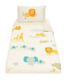 Add some safari fun to your little one's bedroom or nursery with the Sleepy Savannah collection