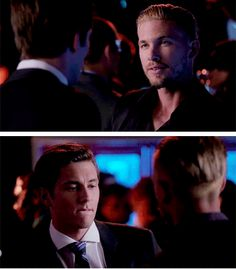 Jude is biting his lip while looking at Zero... 3x03