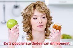 Dit zijn de populairste diëten van dit moment: http://www.gezondheidsnet.nl/alles-over-afvallen/artikelen/11289/de-5-populairste-dieten-van-dit-moment #afvallen