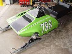 kawasaki snowmobile - Race sled