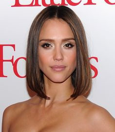 """Though the name """"lob"""" is a recent term, this long bob haircut has been around for ages. If you want a sexy, versatile style that can be worn straight or curly, down or up, this is a great pick.  - GoodHousekeeping.com"""
