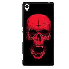 Cross Skull TATUM-2872 Sony Phonecase Cover For Xperia Z1, Xperia Z2, Xperia Z3, Xperia Z4, Xperia Z5