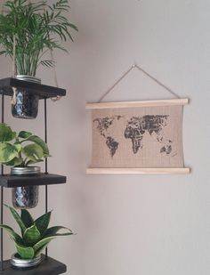 Hey, I found this really awesome Etsy listing at https://www.etsy.com/listing/242036631/world-map-tapestry-9x12-hanging-burlap