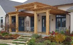 These free pergola plans will help you build that much needed structure in your backyard to give you shade, cover your hot tub, or simply define an outdoor space into something special. Building a pergola can be a simple to… Continue Reading → Diy Pergola, Pergola Canopy, Wooden Pergola, Outdoor Pergola, Pergola Shade, Pergola Kits, Outdoor Rooms, Outdoor Living, Pergola Ideas