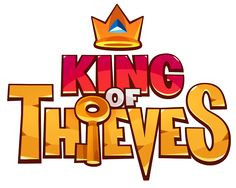 King of Thieves Game Logo Bg Design, Game Logo Design, Hand Logo, Branding, Game Font, Video Game Logos, Logo Minimalista, Restaurant Logo, Game Title