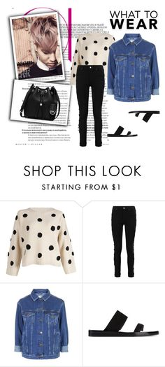 """"""".192"""" by i-love-louis-thetommo-tomlinson on Polyvore featuring Topshop, Ann Demeulemeester, MICHAEL Michael Kors, women's clothing, women's fashion, women, female, woman, misses and juniors"""