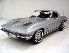1963 Corvette Split Window Coupe, 327-360 hp
