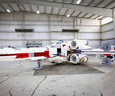 Witness the greatest mash up of LEGO and Star Wars ever with this life size LEGO Star Wars X-Wing. Standing at an unbelievable 11 feet in height and 43 feet in...