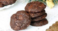 Hutné čokoládové sušenky s dvojitou porcí čokolády + Videorecept