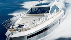 The shipyards of Italy's Azimut Benetti Group regularly produce lavish yachts that measure well over 200 feet in length. Azimut 55S.