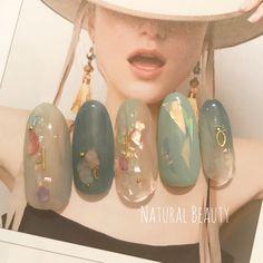 40 Beautiful Japaness Nail Design – Beauty Life Tips - Nails Asian Nail Art, Asian Nails, Korean Nail Art, Korean Nails, Japanese Nail Design, Japanese Nail Art, Minimalist Nails, Nail Swag, Trendy Nails