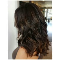 dark Brunette balayage by @kolorbykelly