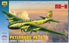 Zvezda 7264 Petlyakov Pe-8 Soviet Bomber - Modeledo.pl