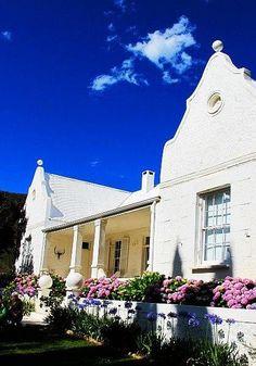 #CapeDutchArchitecture, #Farmhouse in, Klien Karoo farmhouse #SouthAfrica