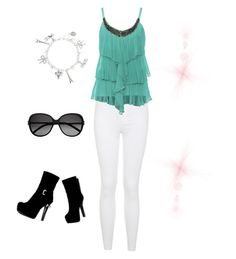 """""""*55"""" by marigonzalez1d ❤ liked on Polyvore featuring Miss Selfridge and Yves Saint Laurent"""