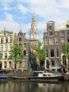 Zuiderkerk (Southern church), as seen from the Kloveniersburgwal, Amsterdam