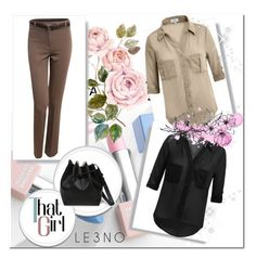 """""""7. Le3noclothing :)"""" by hetkateta ❤ liked on Polyvore featuring LE3NO, Sephora Collection, Karlsson and le3noclothing"""