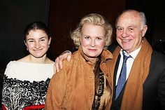 Louis Malle and Candice Bergen | Candice Bergen is supported on opening night by her daughter Chloe ...