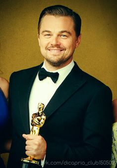 leonardo dicaprio.Still very very handsome!!!! <3<3<3<3So happy for him.He deserves it!