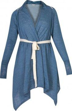 ULYSSES Merino wool wrap cardigan