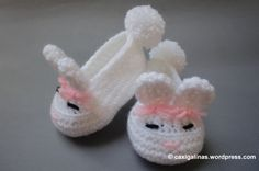 Bunny Booties Easy Free Pattern