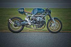 """Custom-BMW R nineT """"Clubman Racer"""" von Shiro Nakajima, 46 Works."""