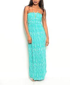 Look what I found on #zulily! Jade & Ivory Chevron Maxi Dress #zulilyfinds