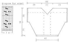 """DROPS 13-7 - DROPS svetr s krajkovým vzorem v """"Paris"""". Jedna velikost. - Volný vzor by DROPS Design"""