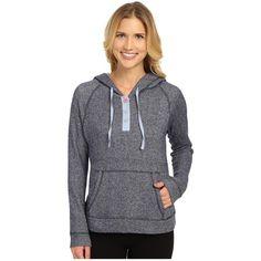 Jane & Bleecker French Terry Hoodie 3561108 Women's Sweatshirt ($58) ❤ liked on Polyvore featuring tops, hoodies, sweatshirt hoodies, hooded pullover, hooded sweatshirt, french terry tops and hooded tops