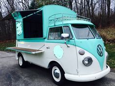 1960 VW Split Screen Custom Food Truck for sale , this truck might you interesting, especially for ...