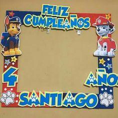 5th Birthday Party Ideas, Baby Boy 1st Birthday, Party Themes, Paw Patrol Party Decorations, Paw Patrol Birthday Theme, Cumple Paw Patrol, Happy Paw, Paw Patrol Cake, Ideas Para Fiestas