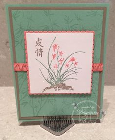 Finally, an Asian themed stamp set from Stampin' Up! http://impressionsbyday.com