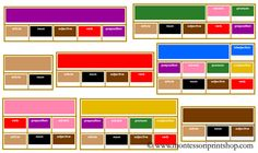 Use Montessori Elementary Grammar Boxes (traditional border colors) to study the function of the 9 parts of speech. Printable Montessori learning materials for Montessori learning in the home and at school. Montessori Homeschool, Montessori Elementary, Montessori Classroom, Montessori Activities, Homeschooling, Teaching Skills, Teaching Reading, Teaching Ideas, Spanish Language Learning