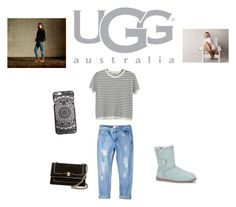 """Boot Remix with UGG : Contest Entry"" by simpsoncody ❤ liked on Polyvore featuring UGG Australia, Chicnova Fashion, MANGO and Salvatore Ferragamo"