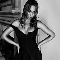 """""""Her appeal crosses art forms, genders, and generations"""" - Stella McCartney  @beyonce wears #Winter15 dress in the September issue of @voguemagazine  #StellasWorld  Photo by @mariotestino"""