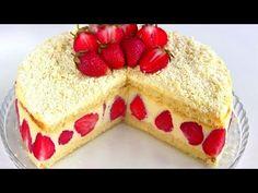 """Торт """"Фрезье"""" /  Клубничный торт с нежнейшим кремом"""
