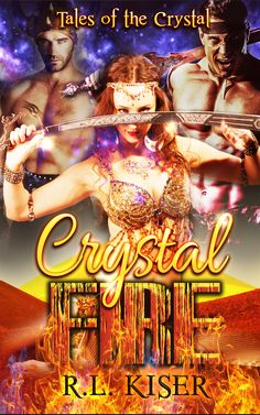 Crystal Fire - An old woodsman, bent with age, has traveled far to find a place where he can live without magic. Yet he spots the sparkle of Fire Stallions, magical beasts rarely tamed, hitched to a carriage. That can mean only one thing. Someone, or something, has come looking for him. Will they never leave him in peace?