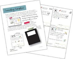 FABULOUS post on guided math and journaling. Includes a sample of prompts and problems.