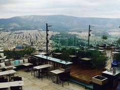 sky bar lycabettus Hill - NY Times recommends taking the funicular from Aristippou and Ploutarchou in the Kolonaki neighbourhood. Especially glorious at night and funicular runs until 2:30am.