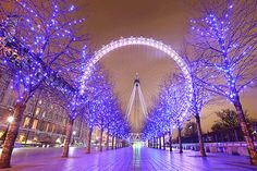 London During Christmas Time