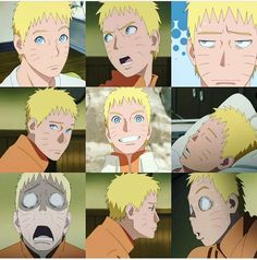 Naruto expression is funny and natural