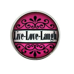 Live Love Laugh for Ginger Snap-Noosa Snap-Chunk Snap Charm Jewelry by SimpleEleganceCole on Etsy Charm Jewelry, Jewelry Art, Ginger Snaps Jewelry, Live Love, Simple Elegance, Charmed, Bling Bling, Etsy, Products