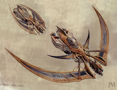 In honour of Dieselpunk Day! Jim Martin, a new favourite concept artist. I love the golden, gilded flying machine, bordering on Steampunk ideologies. Spaceship Art, Spaceship Design, Spaceship Concept, Concept Ships, Concept Art World, Weapon Concept Art, Steampunk Airship, Dieselpunk, Arte Tribal