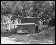 Edward Lamel House, Glendale, CA  Pierre Koenig, Architect