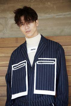 Pinstripe Denim Jacket | PATH | NOT JUST A LABEL